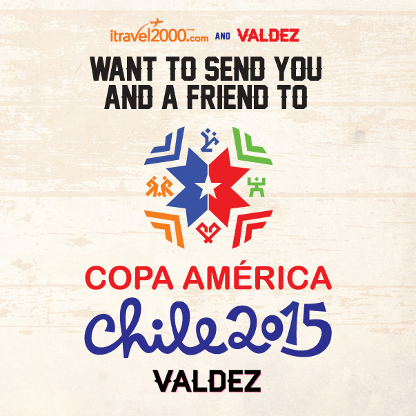 Win a Trip to watch Colombia Win at Copa America 2015