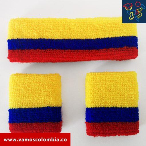 Vamos Colombia - Headband and wristbands