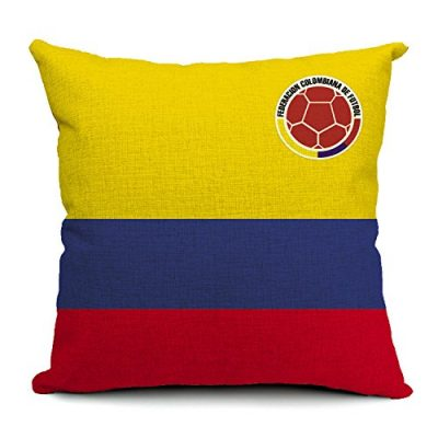 Colombia Pillow Case Almohada