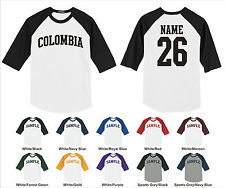 Colombia Baseball Shirt