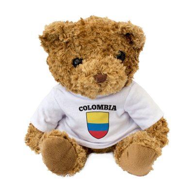 Colombia Flag Teddy Bear Gift Present