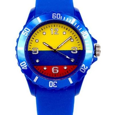 Colombia Flag Wristwatch World Cup