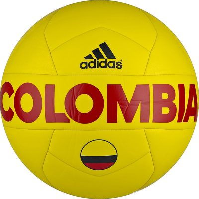 Colombia Yellow Soccer Ball