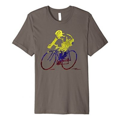 Colombia T-Shirt Ciclismo Bicicleta BMX Cycling