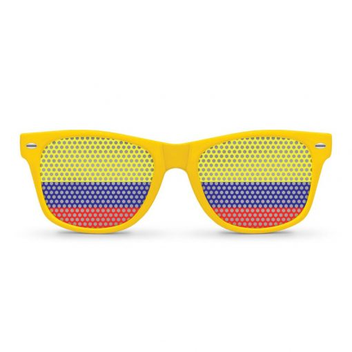 Cool Colombia Flag Yellow Summer Sunglasses