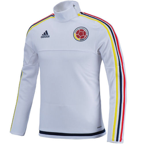 Colombia White Training Top Pullover Original