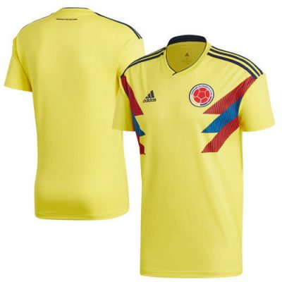2018 Youth Colombia Yellow Home Jersey