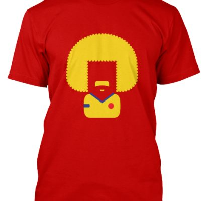 Colombia Valderrama El Pibe Blue Red T-Shirt