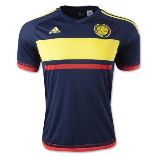 Kids Colombia Soccer Jersey 2015-2016 navy