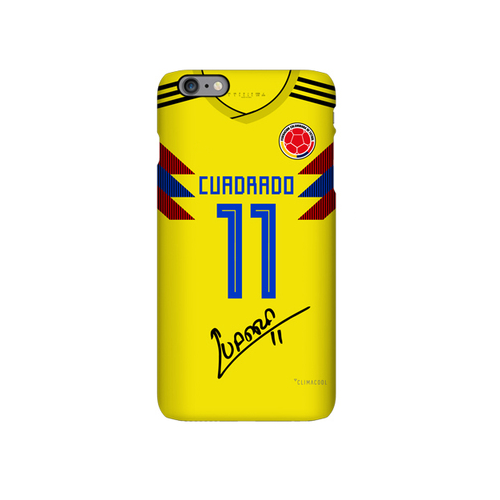 Colombia 2018 soccer jersey cuadrado iphone case cover