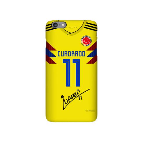 Colombia 2018 soccer jersey cuadrado iphone case cover