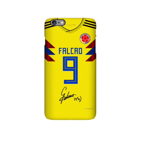 Colombia 2018 soccer jersey radamel falcao iphone case cover