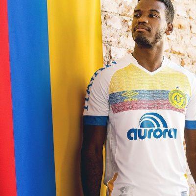 Chapecoense Colombia Camiseta Oficial 2018