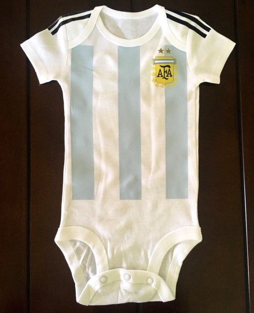 Argentina Baby Onesie Jersey