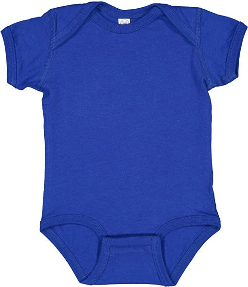 Blue Colombian Baby Onesie