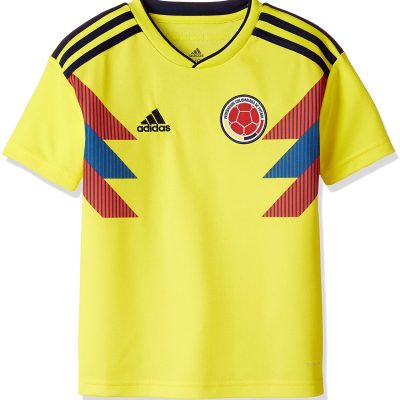 Colombia Home Soccer Jersey Kids