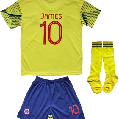 Colombia James Rodriguez Soccer Youth Set