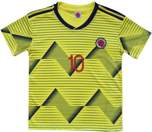Colombia James Rodriguez Soccer Youth Set Front