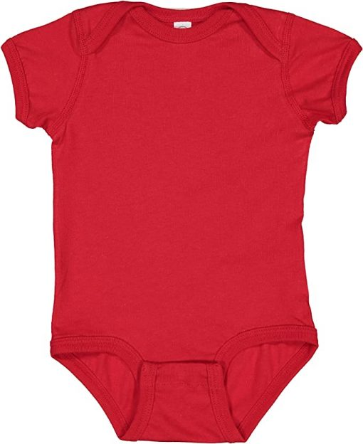 Red Colombian Baby Onesie