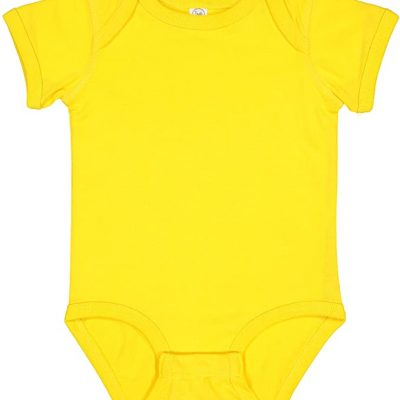 Yellow Colombian Baby Onesie